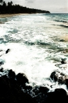 ombak pantai senggigi lombok