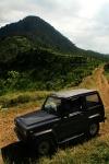 Di belakang gunung Manglayang