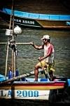 Nelayan pantai Santolo